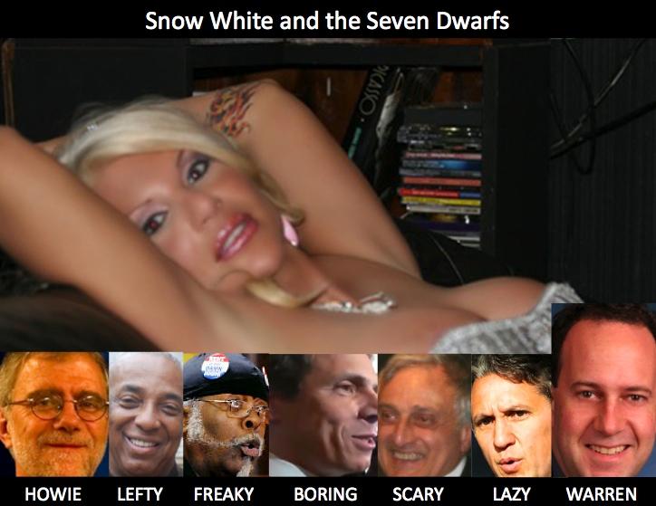 Kristin Davis, Howie Hawkins, Charles Barron, Jimmy McMillan, Andrew Cuomo, Carl Paladino, Rick Lazio and Warren Redlich