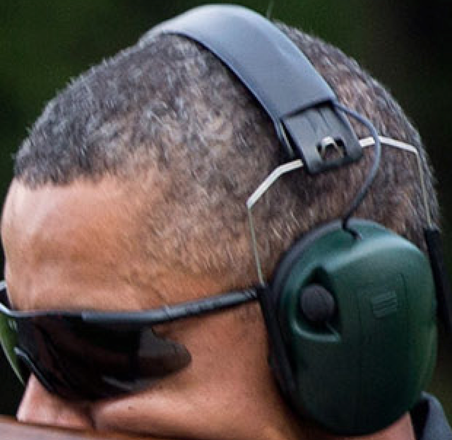 Obama Ear Protection
